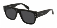 ALEXANDER MCQUEEN AM0069S 001 SHINY BLACK