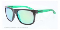 Arnette AN4143 22453R BLACK light green mirror green