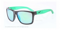 Arnette AN4177 22453R BLACK  light green mirror green