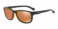 Arnette AN4214 22717D BLACK ON TRASLUCENT AMBER