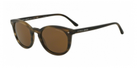 Giorgio Armani AR8060 540557 STRIPED MATTE DARK BROWN