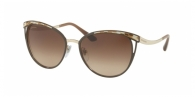 BVLGARI BV6083 203013 BROWN/PALE GOLD