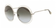 CHLOE Carlina CE114SD 733 GOLD/TRANSPARENT GREEN