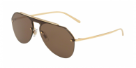 DOLCE & GABBANA DG2213 02/73 GOLD / BROWN