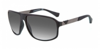 EMPORIO ARMANI  EA4029-50638G BLACK RUBBER GREY GRADIENT