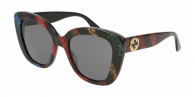 GUCCI GG0327S 003 SHINY GLITTER SLASH RAINBOW