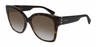 GUCCI GG0459S 002 HAVANA-GOLD-BROWN