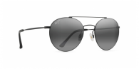 MAUI JIM Pele's Hair MJ814 814-2M MATTE BLACK / GREY