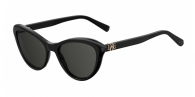 MOSCHINO LOVE MOL015/S 807 (IR) BLACK