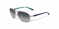 Oakley OO4079 407907 POLISHED CHROME GREY GRADIENT POLARIZED