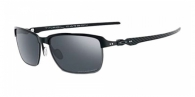 Oakley OO6018 601802 SATIN BLACK/STEEL BLACK IRIDIUM POLARIZED