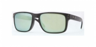 Oakley OO9102 910250 MATTE BLACK EMERALD IRIDIUM