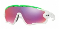 OAKLEY Jawbreaker OO9290-929015 GREEN/WHITE(PRIZM ROAD)