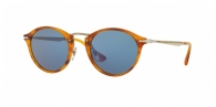 PERSOL  PO3166S-960/56 STRIPED BROWN