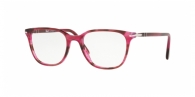 PERSOL PO3203V 1084 STRIPED BLACK CHERRY