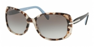 PRADA PR 08OS UAO0A7 SPOTTED BROWN