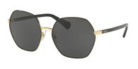 RALPH RA4124 933787 SHINY GOLD WITH BLACK