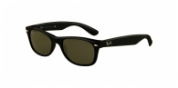 Ray-ban RB2132 622 BLACK RUBBER CRYSTAL GREEN