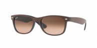Ray-ban RB2132 6310A5 MATTE CHOCCOLAT ON OPAL YELLOW