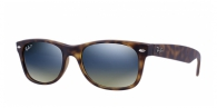Ray-ban RB2132 894/76 MATTE HAVANA BLUE/GREEN MIRROR POLAR