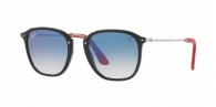 Ray-ban RB2448NM F6013F BLACK / BLUE GRADIENT