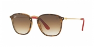 Ray-ban RB2448NM F60351 HAVANA / BROWN GRADIENT