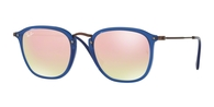 Ray-ban RB2448N 62547O TRASPARENT BLUE