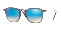 Ray-ban RB2448N 62554O TRASPARENT GREY