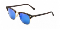 Ray-ban RB3016 114517 SAND HAVANA GREY MIRROR BLUE