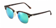 Ray-ban RB3016 114519 SAND HAVANA GREY MIRROR GREEN