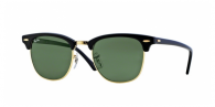 Ray-ban RB3016 W0365 EBONY-ARISTA/CRYSTAL GREEN