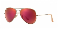 Ray-ban RB3025 167/2K BRUSHED BRONZE RED MIRROR
