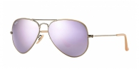 Ray-ban RB3025 167/4K BRUSHED BRONZE LILAC MIRROR
