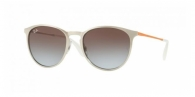 RAY-BAN Erika Metal RB3539-90772W BRUSCHED SILVER