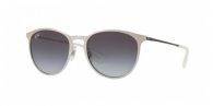 RAY-BAN Erika Metal RB3539-90788G BRUSCHED SILVER