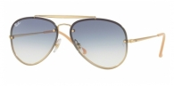 RAY-BAN Blaze Aviator RB3584N 001/19 GOLD