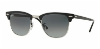 RAY-BAN Clubmaster Metal RB3716 911871 SILVER ON TOP MATTE BLACK