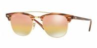 RAY-BAN Clubmaster Doublebridge RB3816-1237I1 GOLD