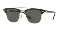RAY-BAN Clubmaster Doublebridge RB3816 901 BLACK