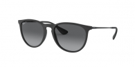 RAY-BAN Erika RB4171 622/T3 BLACK RUBBER