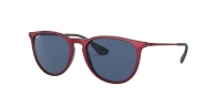 RAY-BAN Erika RB4171 647280 TOP METALLIC RED ON BLACK