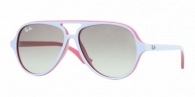 RAY-BAN JUNIOR RJ9049S 176/11 TOP WISTERIA ON LIGHT FU GRAY