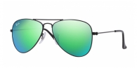 RAY-BAN JUNIOR Junior Aviator RJ9506S 201/3R MATTE BLACK
