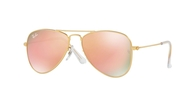 RAY-BAN JUNIOR Junior Aviator RJ9506S-249/2Y MATTE GOLD