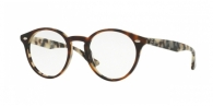 RAY-BAN RX2180V 5676 TOP BROWN HAVANA ON AVANA BEIG
