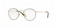 RAY-BAN Round Metal RX3447V 2991 GOLD ON TOP BLACK