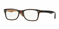 RAY-BAN  RX5228-5057 TOP DARK HAVANA ON BEI DEMO LENS