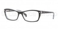RAY-BAN  RX5255-2034 TOP BLACK ON TRANSPARE