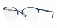 RAY-BAN  RX6422-3006 GUNMETAL ON TOP MATTE BLUE