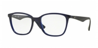 RAY-BAN  RX7066-5584 TRASPARENT BLUE